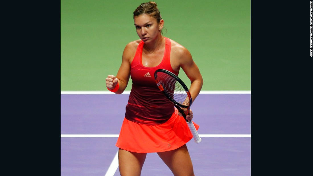 World No. 2 Halep, meanwhile, needed just 70 minutes to thrash Pennetta 6-0 6-3.