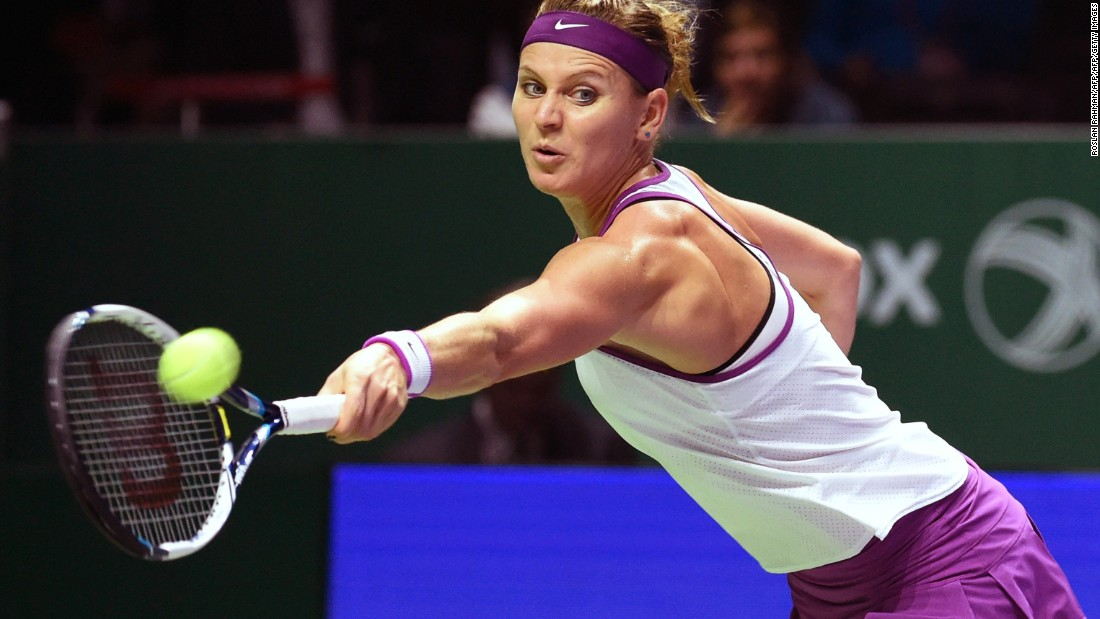 Safarova beat the 22-year-old in this year's French Open quarterfinals in their only other meeting, but the world No. 9 was sidelined by a debilitating bacterial infection after her first-round defeat at the U.S. Open.