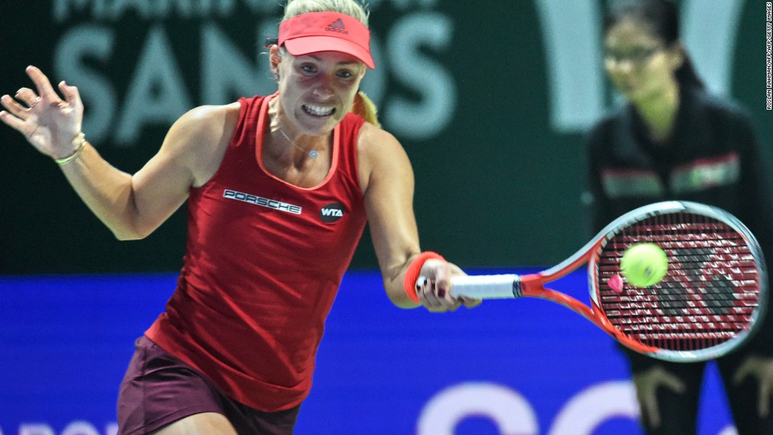 Kerber had lost her previous four clashes with her fellow left-hander, who won the tournament in 2011 when it was held in Istanbul.