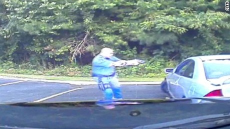 Dashcam video of Zachary Hammond shooting released