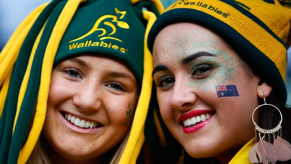 """The southern hemisphere rivals will meet in a final for the first time, with both aiming to be the first nation to win three World Cups. The Wallabies overcame Argentina in the second semifinal, having snatched a controversial <a href=""""http://edition.cnn.com/2015/10/18/sport/rugby-argentina-ireland-australia/index.html"""">35-34 win over Scotland in the quarters</a> after topping Pool A with four wins from four."""