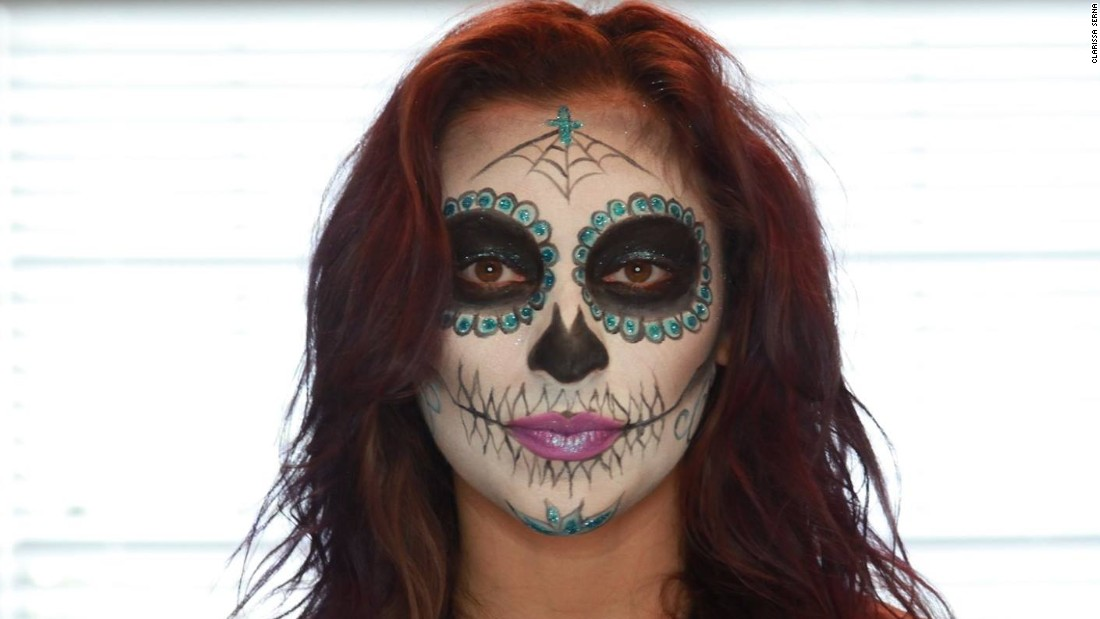 Day Of The Dead Brings Creativity To Life Cnn - Day-of-the-dead-makeup-tutorial-video