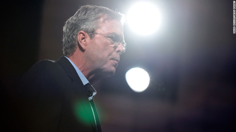 Polls show Jeb Bush struggling