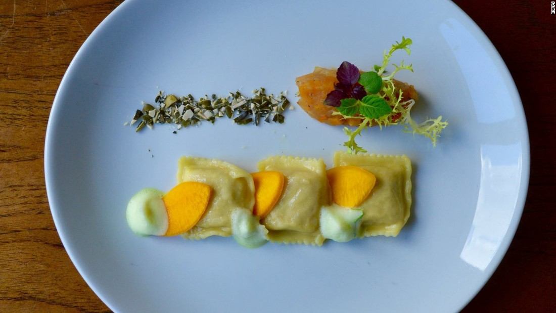 According to New York-based Saveur magazine's 2015 Good Taste Awards, Berlin is the hottest city on the planet for vegetarians right now. Among the city's top vegan fine dining options is Kopps.