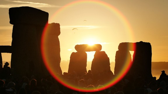 The ancient site attracts around one million visitors a year. The unique stone circle was erected in the late Neolithic period about 2900 BC.