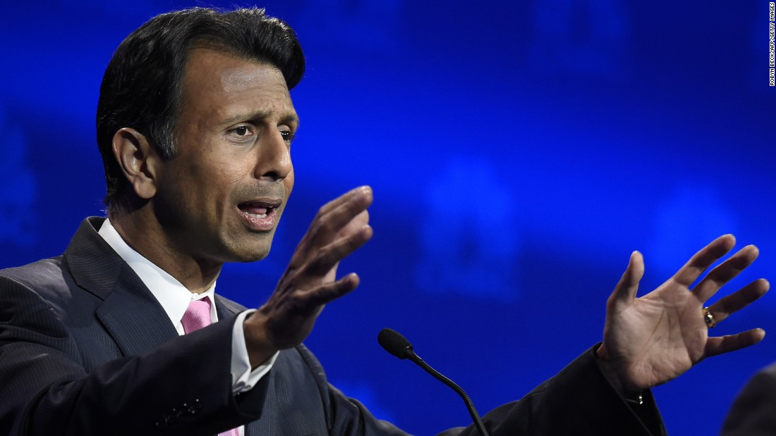 "Louisiana Gov. Bobby Jindal accused Democrats of ""trying to turn the American dream into a European nightmare."""