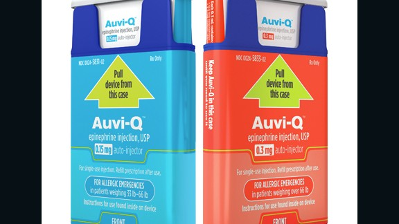 All Auvi‑Q epinephrine auto-injectors have been recalled, the company said.