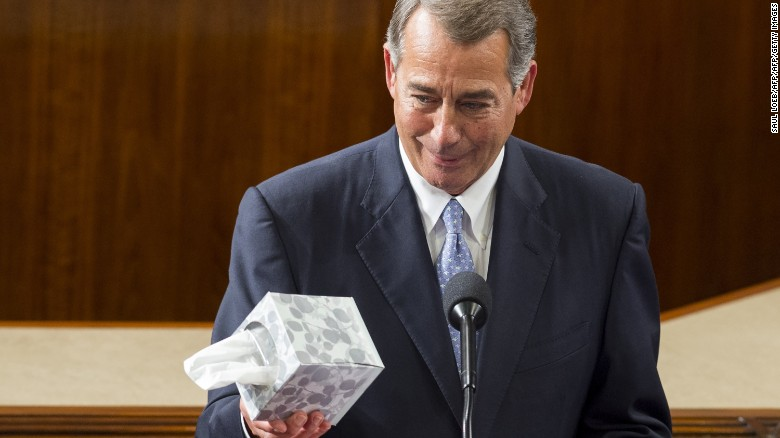 Maybe Democrats should slow their roll on John Boehner…