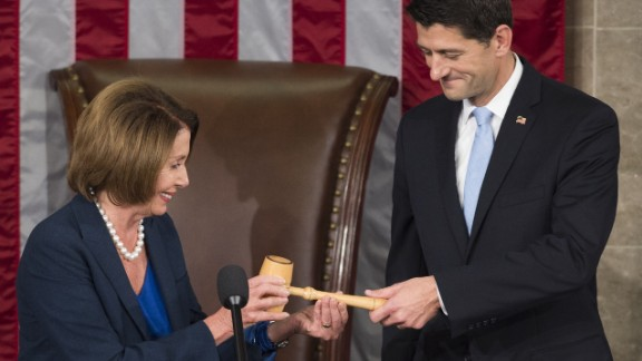 The current Speaker of the U.S. House of Representatives is Paul Ryan, a Republican from Wisconsin. He gained his power from his predecessor, former Speaker John Boehner, after the Ohio Republican shocked the political world by deciding to vacate his position. Click through for other recent speakers: