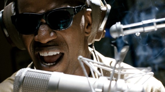 """Ray Charles proved a winning role for Jamie Foxx in 2003's """"Ray."""""""