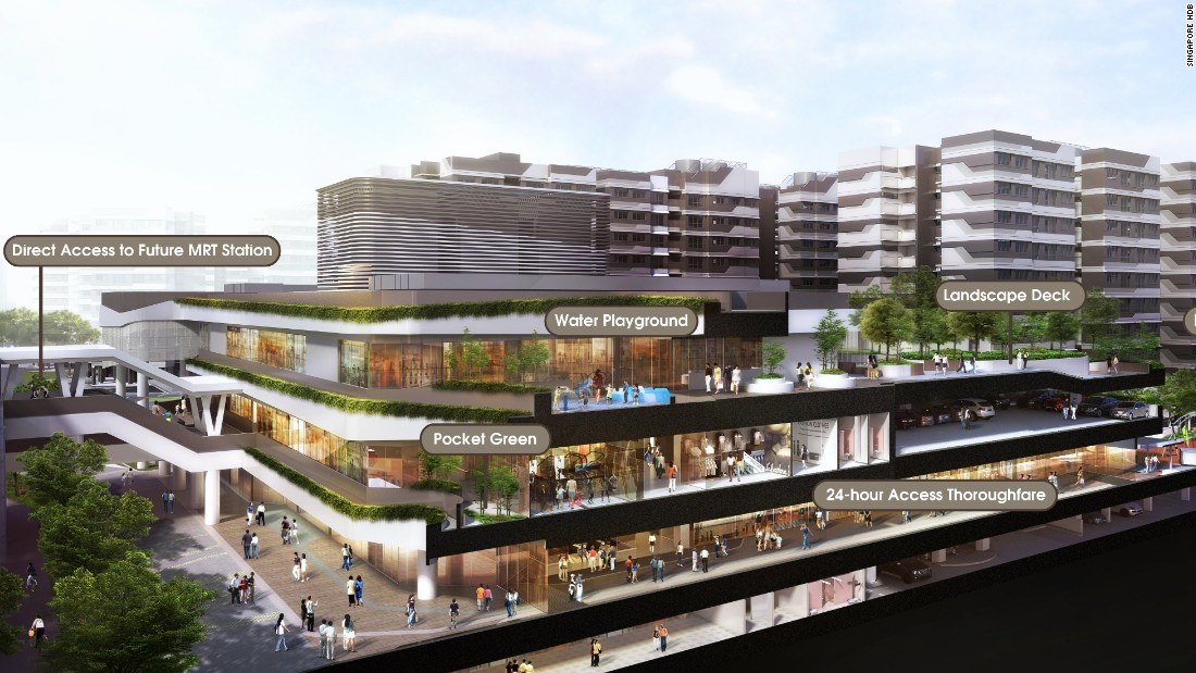 Singapore 39 s public housing for the future for New home designs canberra