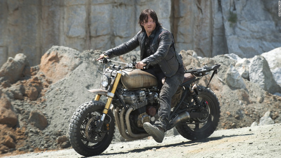 "Norman Reedus plays the hugely popular Daryl Dixon on ""The Walking Dead"""