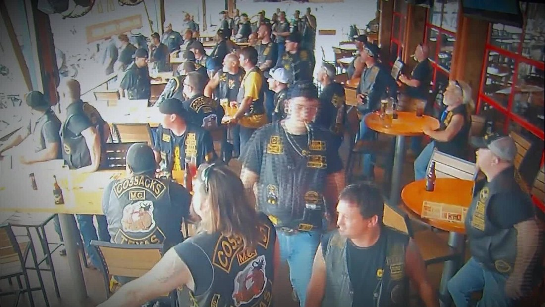 motorcycle shooting n  Waco biker shootout caught on camera - CNN Video
