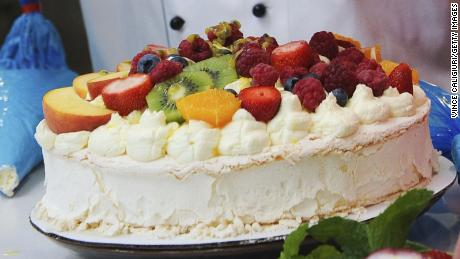 Named after one of the world's most famous ballerinas, the Pavlova cake is served beautifully overflowing with summer fruits heaped on top.