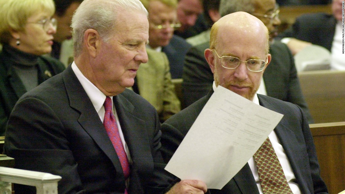 <strong>Then:</strong> Ben Ginsberg served the Bush-Cheney presidential campaign as national counsel and played a key role in the recount.