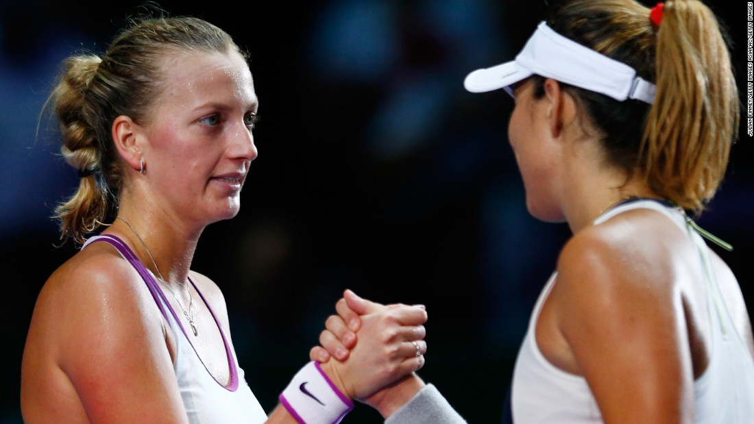 But it wasn't all bad news for Kvitova, the two-time Wimbledon champion ...