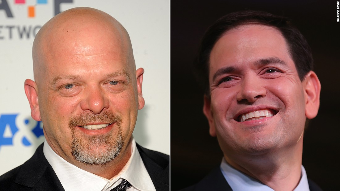 """Pawn Stars"" star Rick Harrison told CNN's Chris Moody that he <a href=""http://www.cnn.com/2015/10/30/politics/pawn-stars-rick-harrison-marco-rubio/index.html"">endorsed</a> Republican presidential candidate Marco Rubio, but the decision could cost him. He said  he was ""deeply impressed"" with Rubio when he first met him, but that as a celebrity, getting political does worry him ""to a degree."""