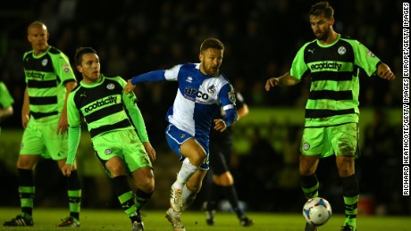 Forest Green lost out in the playoffs last season to local rival Bristol Rovers