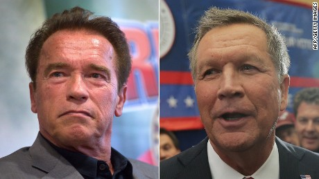 Arnold Schwarzenegger Says John Kasich Should Run In 2020 Cnnpolitics