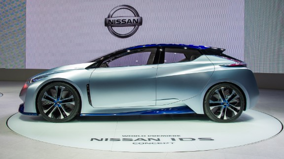 The IDS is a sleek five-door hatchback that runs on electricity alone.