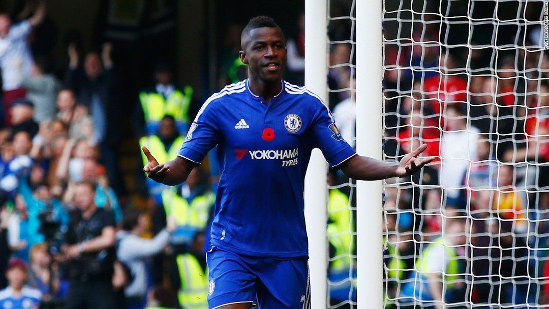 Ramires celebrated signing a new contract at Chelsea with an early opener at Stamford Bridge.