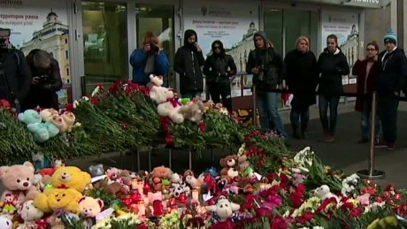 Russia mourns those lost in Egypt plane crash