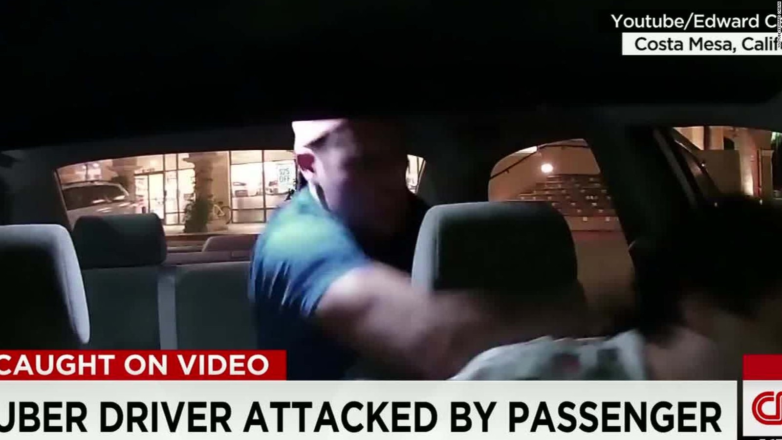uber driver attacked las vegas