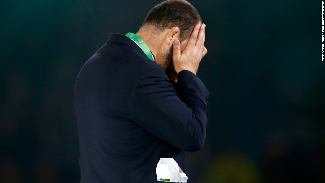 His side may have lost but Australia coach Michael Cheika was rewarded in the way he turned around his side's fortunes with the top coach gong.