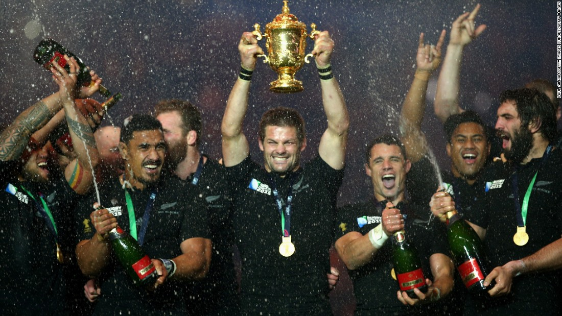 There was little surprise as the All Blacks picked up the Team of the Year award following their 34-17 triumph over Australia in the final.
