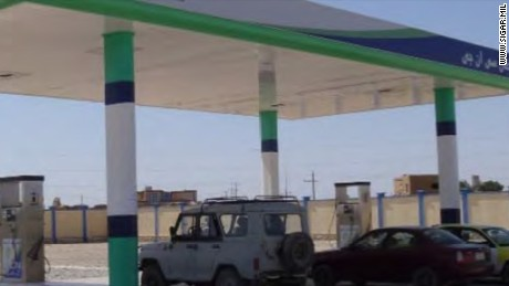 The U.S. spent nearly $43 million to build this gas station in Afghanistan.