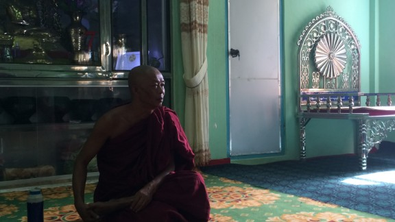 """U Wie Douktah is a Buddhist abbot in Meiktila, Myanmar. He and his disciples provided sanctuary to more than 900 Muslims when violence broke out 2½ years ago. According to official figures, <a href=""""http://www.cnn.com/2013/07/12/world/myanmar-buddhist-conviction-muslim-massacre/index.html"""" target=""""_blank"""">at least 44 people were killed</a> in 2013 after a dispute erupted between Muslims and Buddhists in a Meiktila market. In an overwhelmingly Buddhist country where angry anti-Muslim rhetoric is becoming increasingly part of mainstream discourse, U Wie Douktah is a symbol of tolerance."""
