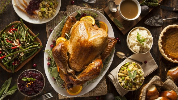 Thanksgiving often means grazing on a table full of turkey, gravy and sides. But to keep them fresh and free from bacteria, make sure to wrap up the leftovers within two hours of serving. And don