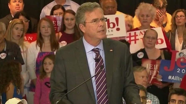 Jeb Bush: 'People need to show up for work'