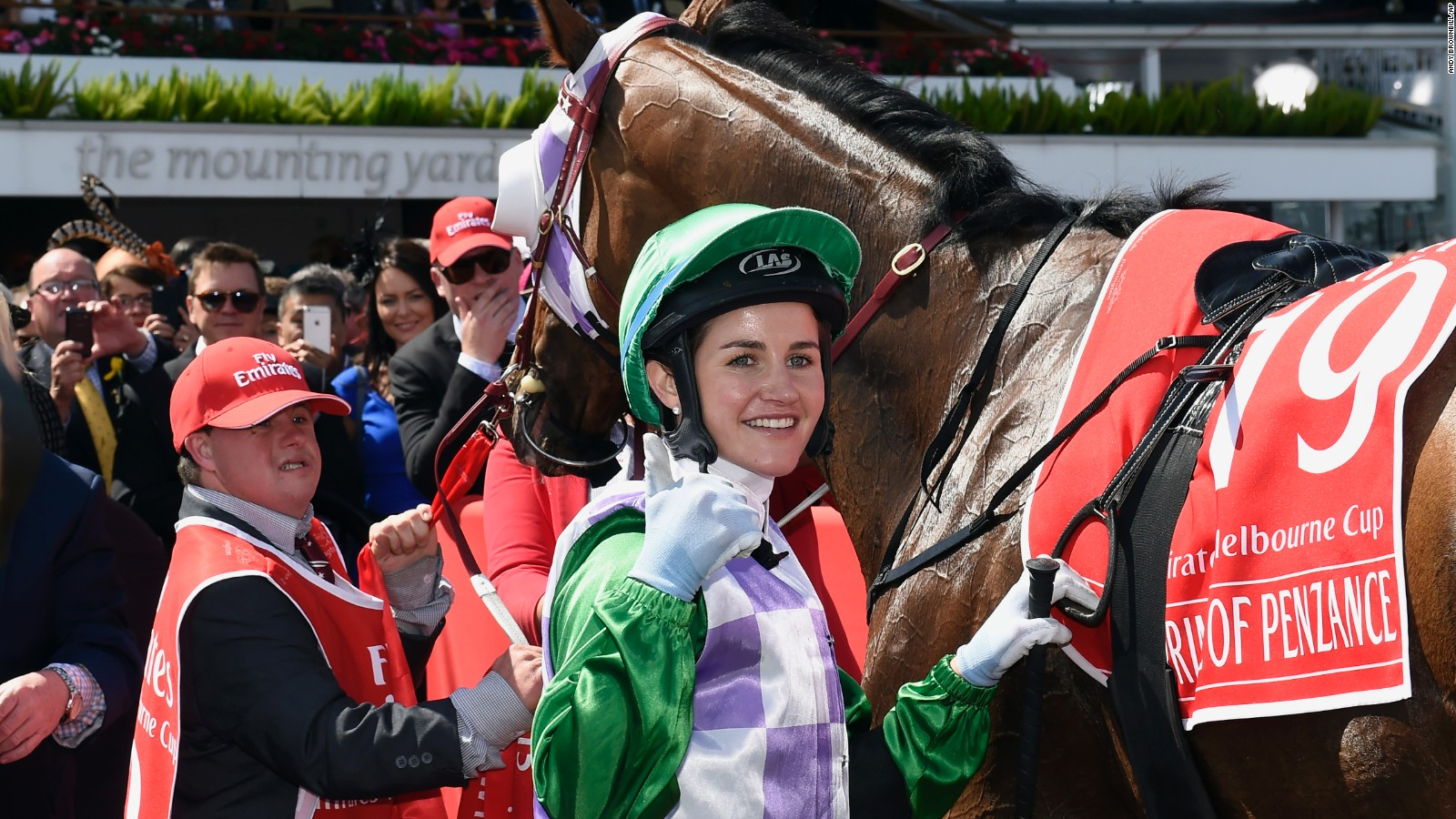 Melbourne Cup Winner Michelle Payne To Critics Get Stuffed Cnn Video
