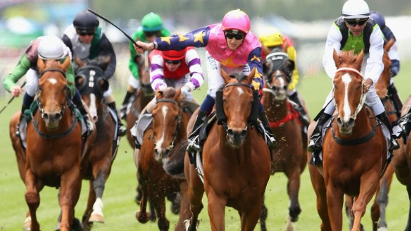 There were 24 horses competing for a chance at sporting immortality.