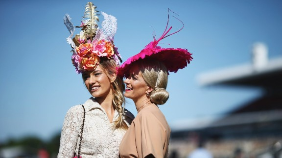"""The Melbourne Cup is known as the """"race that stops a nation"""" such is the interest in the event. It's not just the cup that stops Australia -- it's high stakes in the fashion world too."""