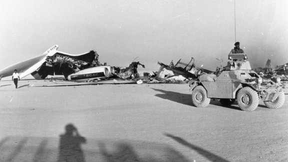 The 1970 hijacking and destruction of three passenger jet aircraft to Dawson's Field in Jordan was a watershed moment in aviation history.