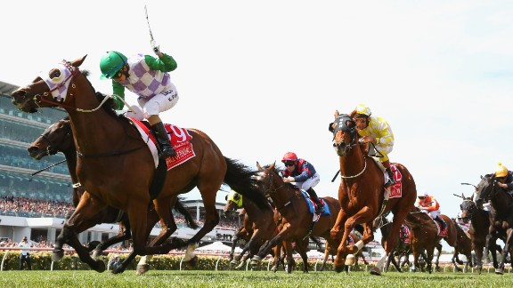 Just the fourth woman to compete in the race in its 155-year history,  Payne rode New Zealand-bred Prince of Penzance to victory.