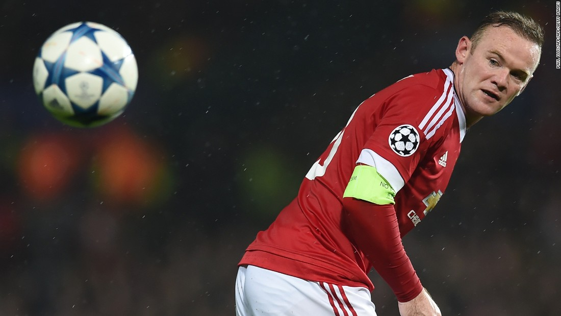 Wayne Rooney hit back at his critics by heading the only goal of Manchester United's home clash with CSKA Moscow, which put the English club top by one point after four games.