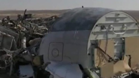 What may have broken apart Russian Metrojet Flight 9268?
