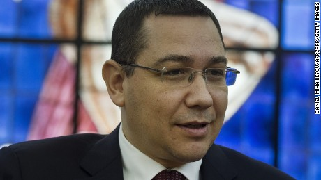 Romanian Prime Minister Victor Ponta, who resigned over public anger over a nightclub fire, pictured in Bucharest in March.
