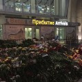 St Petersburg airport memorial, Nov 2