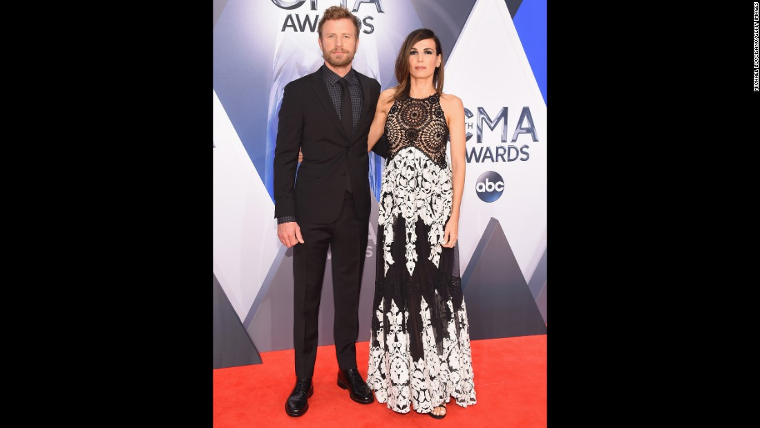 Dierks Bentley, left, and Cassidy Black