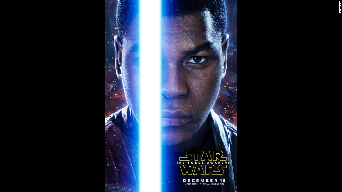 Will John Boyega's Finn fulfill his destiny as a Jedi?