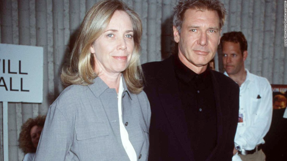 "<a href=""http://www.cnn.com/2015/11/04/entertainment/et-screenwriter-melissa-mathison-feat/"" target=""_blank"">Melissa Mathison</a>, screenwriter of ""E.T. The Extra Terrestrial"" and ""The Black Stallion,"" died November 4 at the age of 65. She was married to Harrison Ford from 1983 to 2004."
