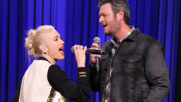 "He's a little bit country; she's a little bit rock: ""The Voice"" judges Gwen Stefani and Blake Shelton are dating, his rep confirmed to E! in 2015. Both were previously married to other musicians: She to Gavin Rossdale of Bush, he to country star Miranda Lambert."