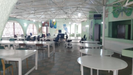 A view of the Sensi Technology Innovation Hub in Freetown, Sierra Leone