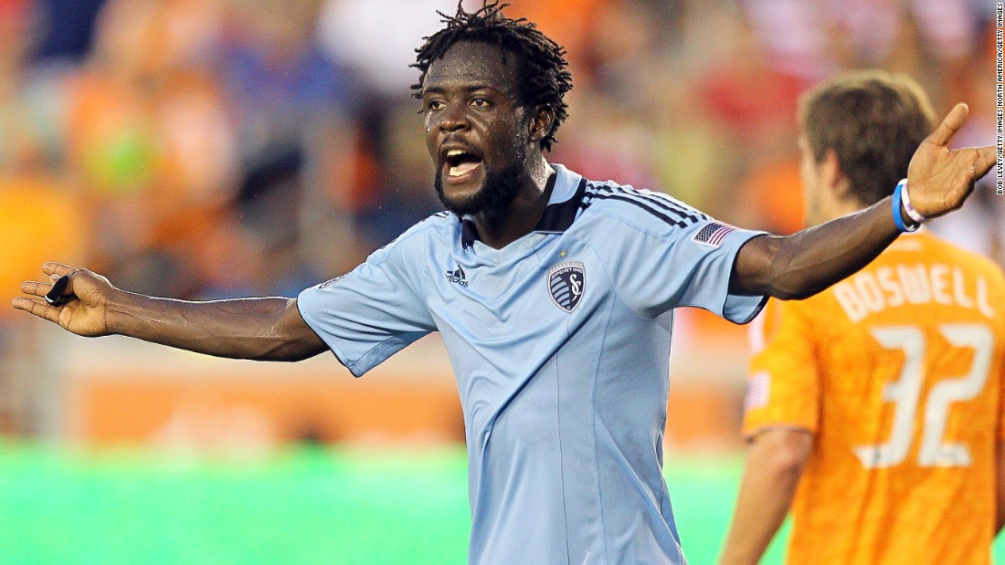 Kei Kamara first made his MLS mark with Sporting Kansas City, scoring 38 goals in two and a half seasons.