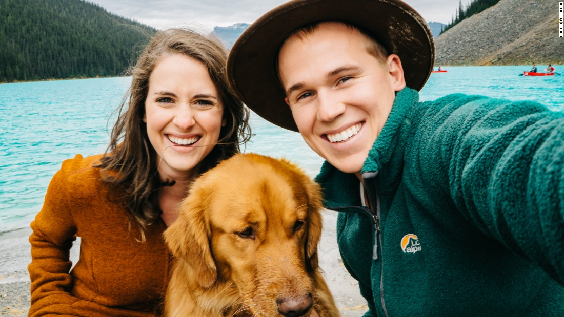 The Lawrences live in Aspen, Colorado -- which, like Lake Louise, hosts the world's top skiers on the World Cup circuit. They never expected their little guy to become a star too -- but every dog has its day.