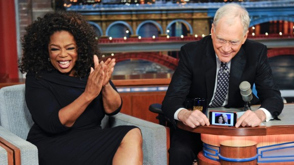 She also has been a regular guest on talk shows. David Letterman grabbed a selfie with her during her final appearance on his CBS show on May 15, 2015.